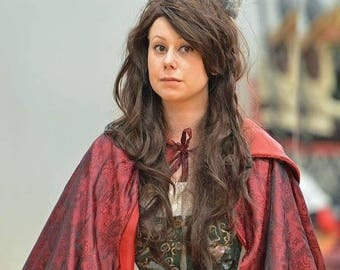 Red Once Upon A Time Cloak