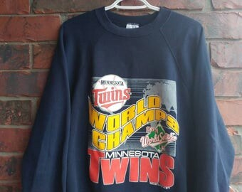1991 Minnesota Twins World Champs Sweatshirt