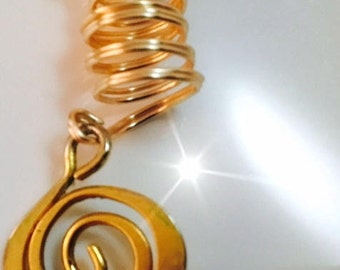 Loc Charms  for Locs, Braids and Natural Hair Styles ( Locki Charms™)