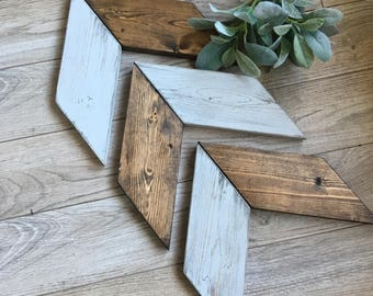 Wooden Arrows, Chevron Arrows, Decorative, Gallery Wall, Wood, Farmhouse Wall Decor, Nursery, Set of Three