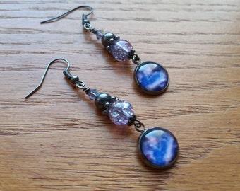 The Galaxy Earrings.