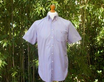 Vintage Short Sleeved GANT Shirt - Size Medium
