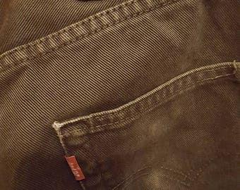 Vintage Levi's Jeans W33 L34 Made in Usa