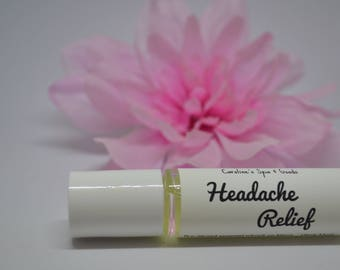 Headache Relief Essential Oil Blend Roll On