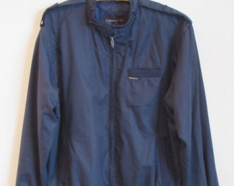 Navy MEMBER'S ONLY Jacket