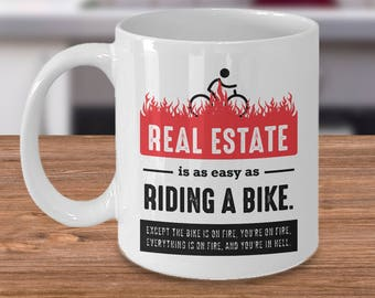 Real Estate Gifts for Agents, Real Estate Agent Mug, Real Estate Agent Gift, Closing Gift for Real Estate, Real Estate Broker Gift
