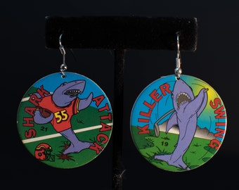 90's Vintage Pog Earrings