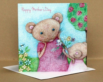 Mother's Day Mouse Card