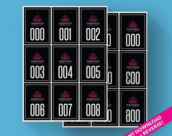photograph about Paparazzi Printable Numbers titled Paparazzi Quantities Illustrations or photos - Opposite Appear