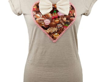 Chocolate candies Sweet-heart Top