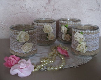 Retro style candles