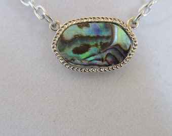 A Natural shell called abalone shell necklace