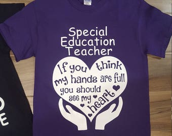 Special Education Teacher Shirt