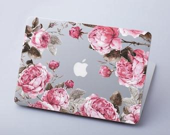 Floral Macbook Air Case 11 13 Clear Macbook Skin Macbook Pro 13 15 Case Macbook Pro Retina Case 13 15 Macbook 12 Gift Case Sleeve RS3112