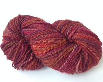 Hand Spun Yarn - Romney x BFL Wool - Light Worsted 2-Ply