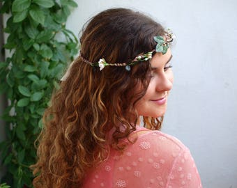 "Flowercrown "" INNOCENCIA """