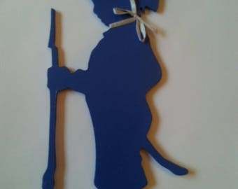 Silhouette child to decorate a room and why not personalize it with the name of your choice.