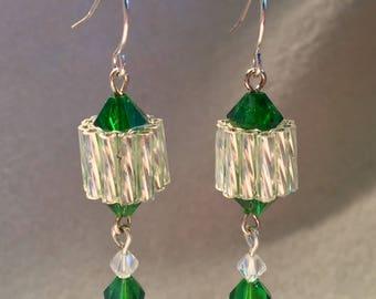 Nymph's Emerald Earrings