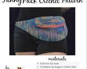 Wanderlust Fanny Pack Crochet Pattern