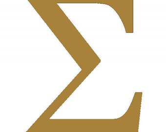 sigma wooden greek letters sorority fraternity letters 5 inch to 20 inch letter height individual greek letters