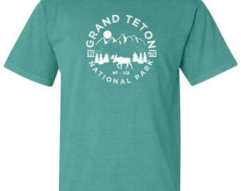 Grand Teton National Park Adventure Comfort Colors TShirt