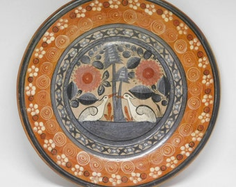 1950s Tonala Pottery by Simon Galvan, Mexican Art Pottery