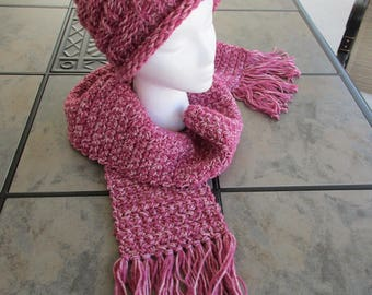 Women's Scarf and Hat Set