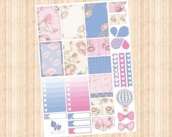 Flower Weekly Kit // Happy Planner // Erin Condren // Personal