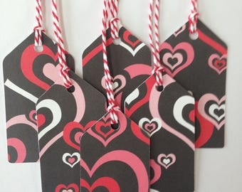 Valentines gift tags/party favor tags