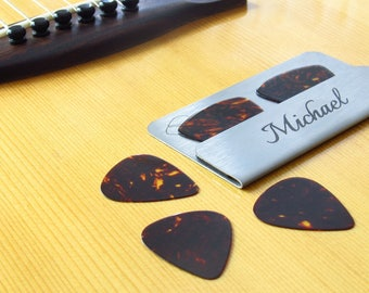 Pik-Fit Wallet Card - Personalized Guitar Pick Holder
