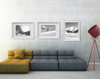 Large Black And White Wall Art, Black And White Gallery Wall Printables, Black And White Wall Art Set, Large Black And White Wall Art