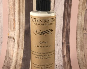 Cherry Blossom Body Lotion | Bubbly Designs