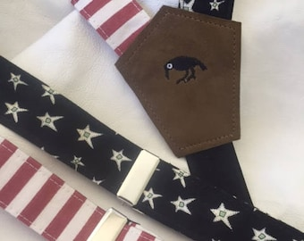 Men's Suspenders - Stars and Stripes