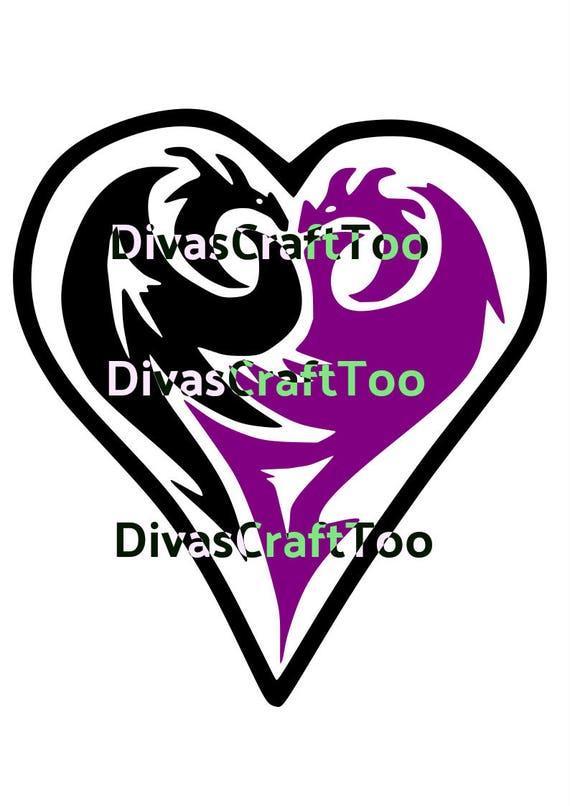 Disney Descendants Maleficent SVG