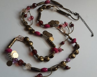 Native Tribal Beaded Necklace