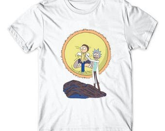 Rick and Morty T - shirt / Rick and Morty shirt / Rick and Morty / Casual t - shirt / Size M L XL 2X 3X / FREE Worldwide Shipping