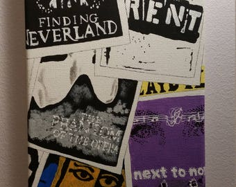 Playbill Canvas Painting