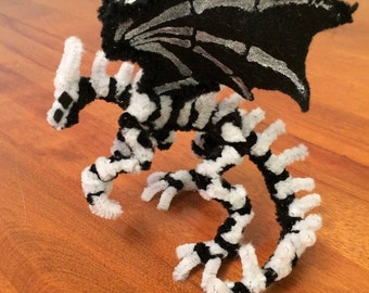 Pipe Cleaner Ghost Dragon