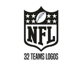 NFL teams - decal vinyl sticker, decal, decal