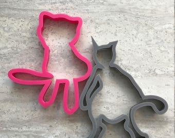 Mew and Mewtwo Pokemon Cookie Cutters Set