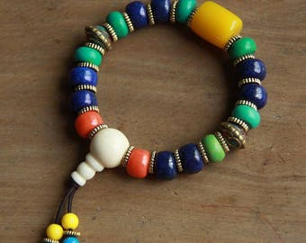 Lapis lazuli bracelet,lapiz lazuli bracelet,Bracelet handmade natural bracelet
