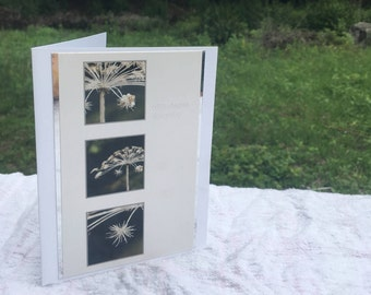 Sympathy Recycled Handmade Greeting Card