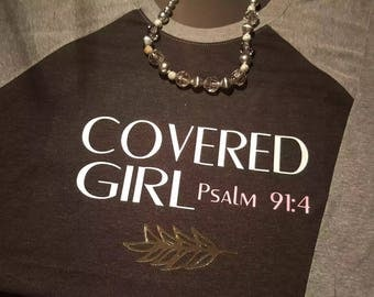 Covered Girl Psalm 91:4