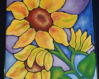 Sunflower Cloisonne
