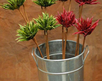 Dried Mum Flowers | Mums | Dried Flowers | Natural Dried Flowers