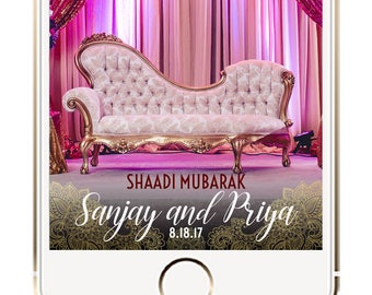 Indian Snapchat Filter, Indian Geofilter, Indian Wedding Snapchat Filter, Indian Wedding, Indian Wedding Geofilter, Indian Geofilter