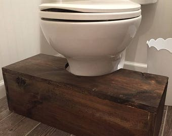 Wooden Squatty Potty Bathroom Toilet Step Stool (LOCAL PICKUP ONLY) & Potty stool | Etsy islam-shia.org