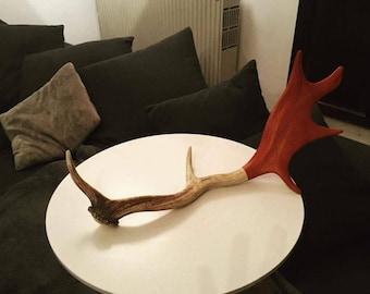 Wooden Deer Head Necklace