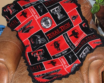 Texas Tech Red Raiders Baby, Toddler Blanket