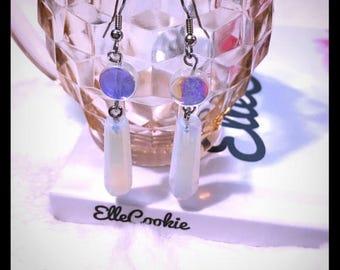 Opalite Point Earrings